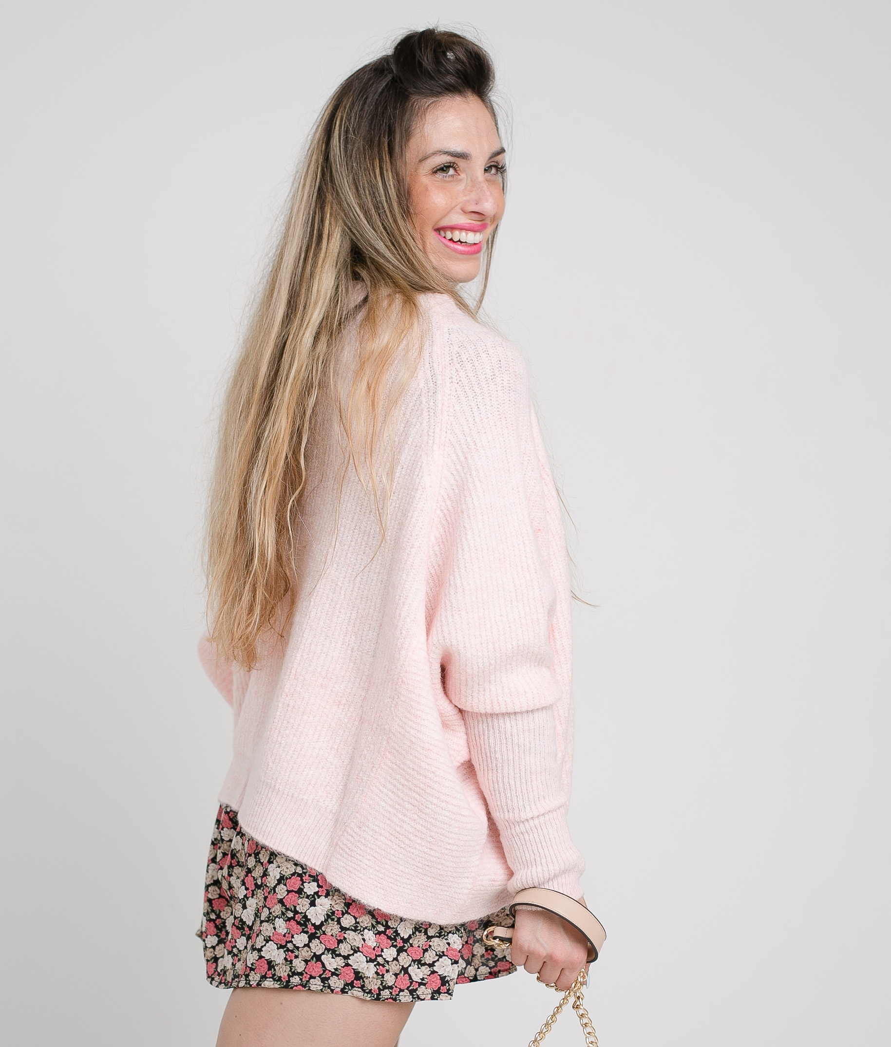 SWAG SWEATER - PINK