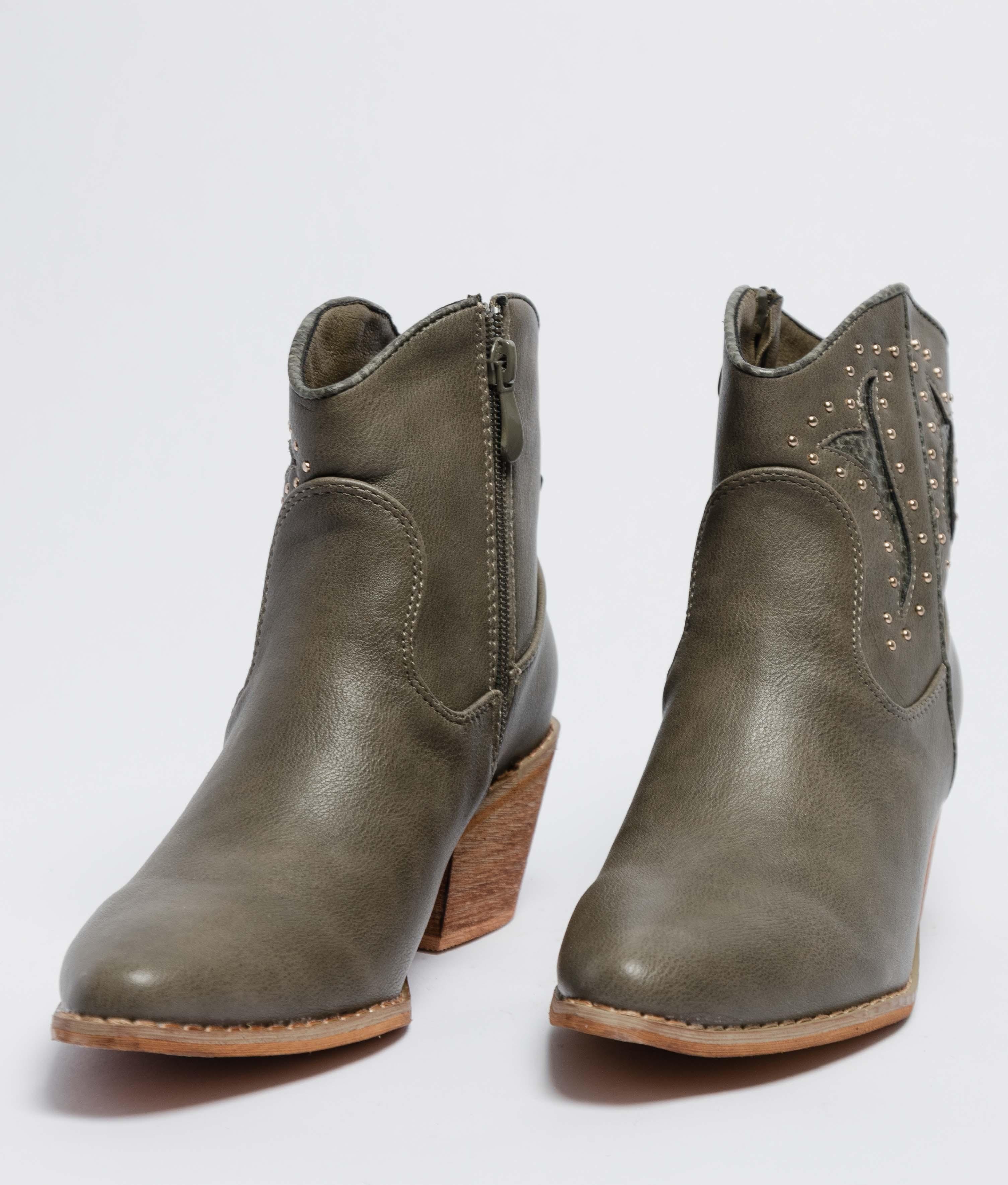 Low Boot Deara - Green