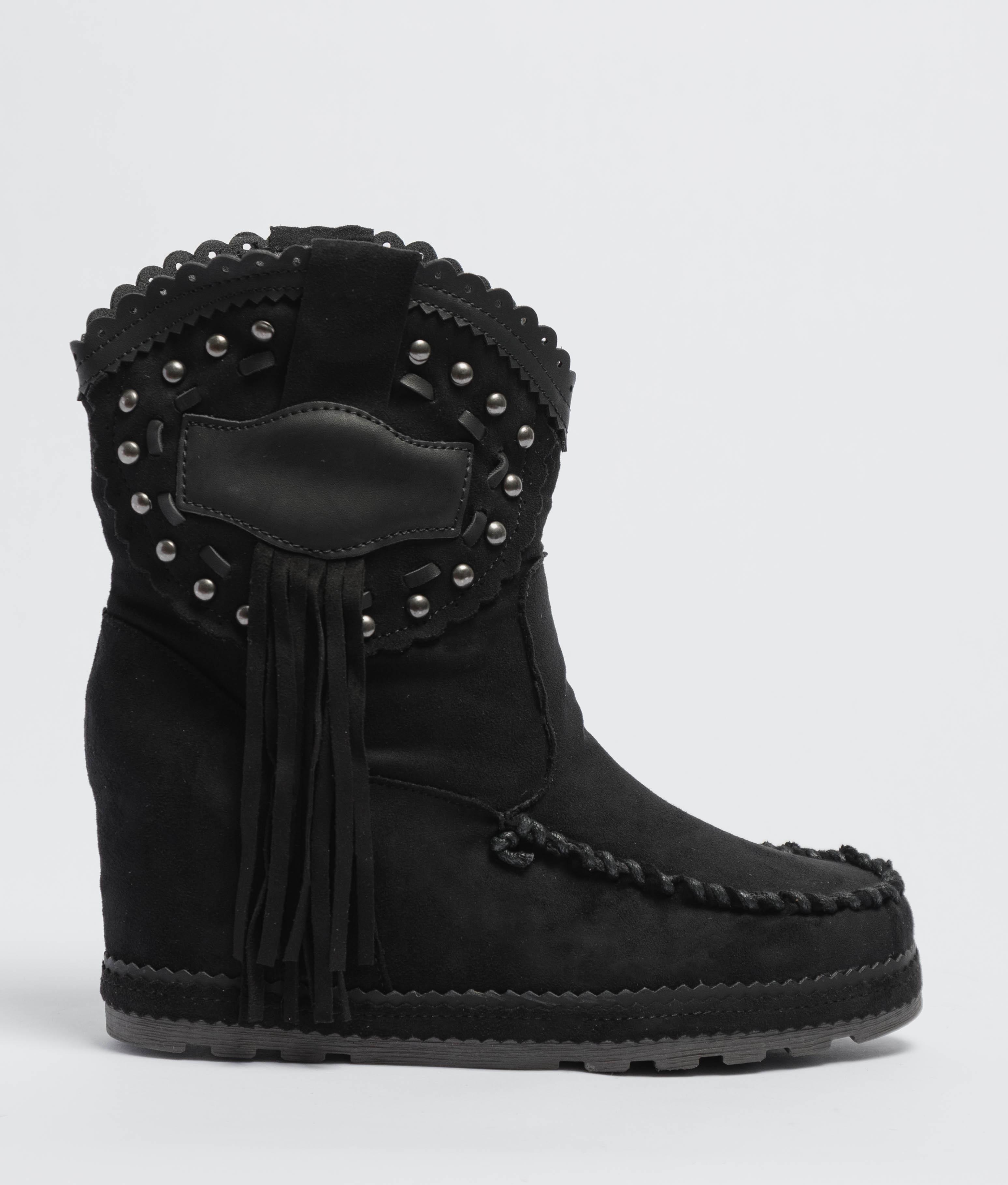 Corci Indianini Low Boot - Black