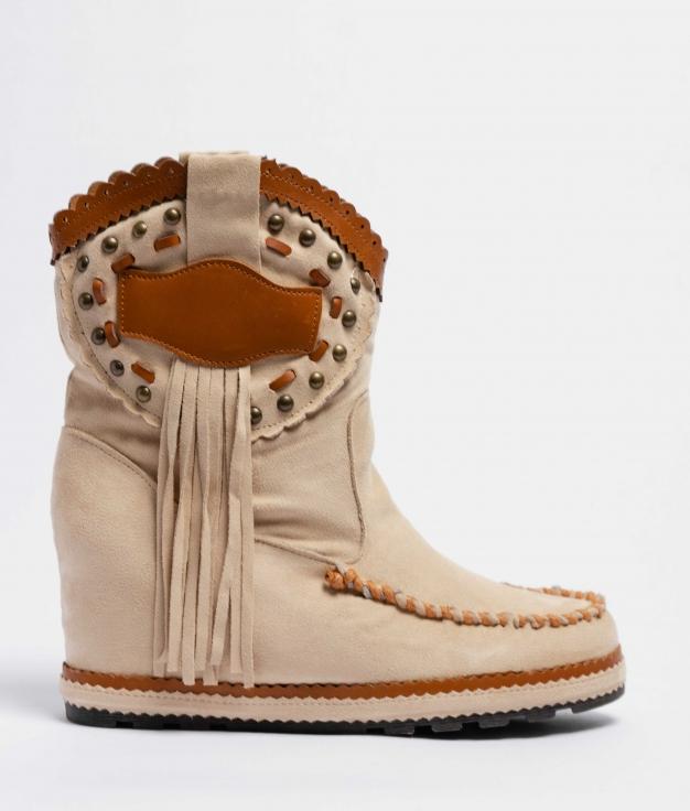 Boot Petite Indianini Corci - Beige