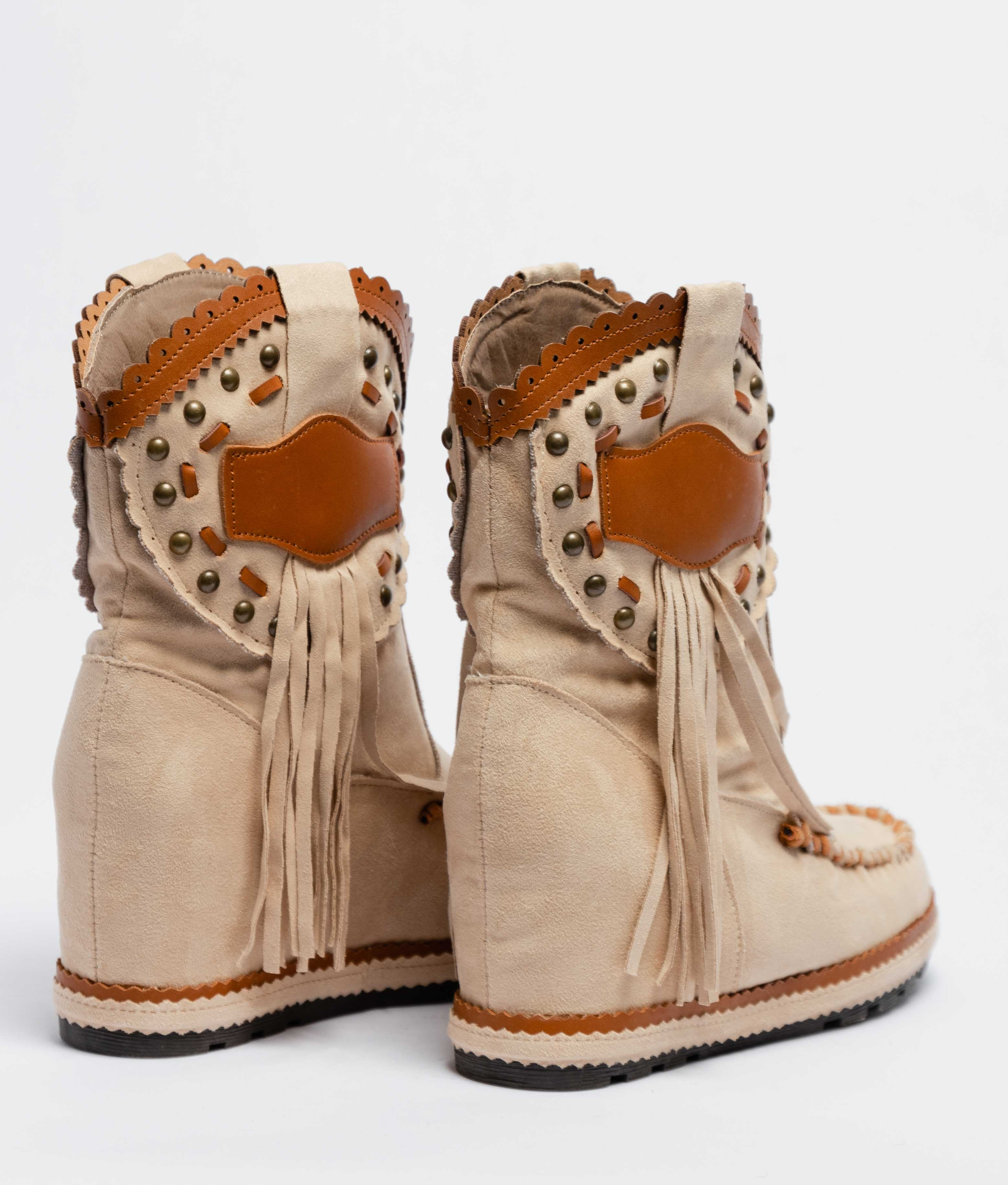 Corci Indianini Low Boot - Beige