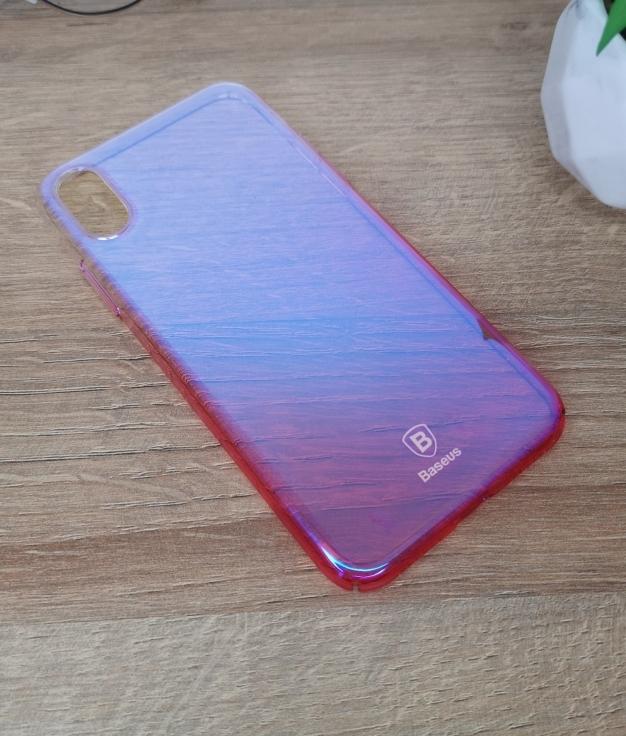 Funda movil iphone x - pink