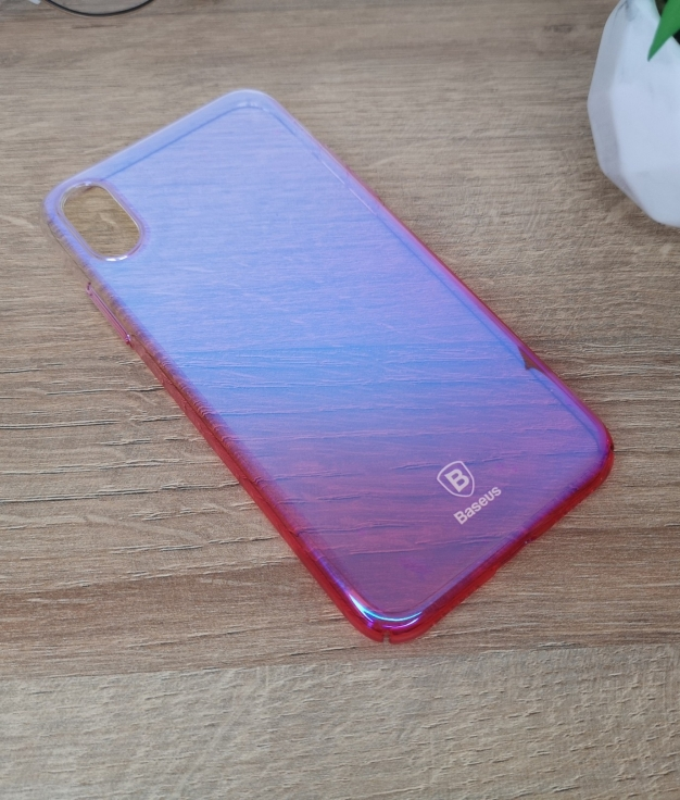 Funda movil iphone x - rose