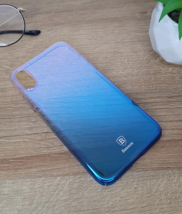 Funda movil iphone x - blu