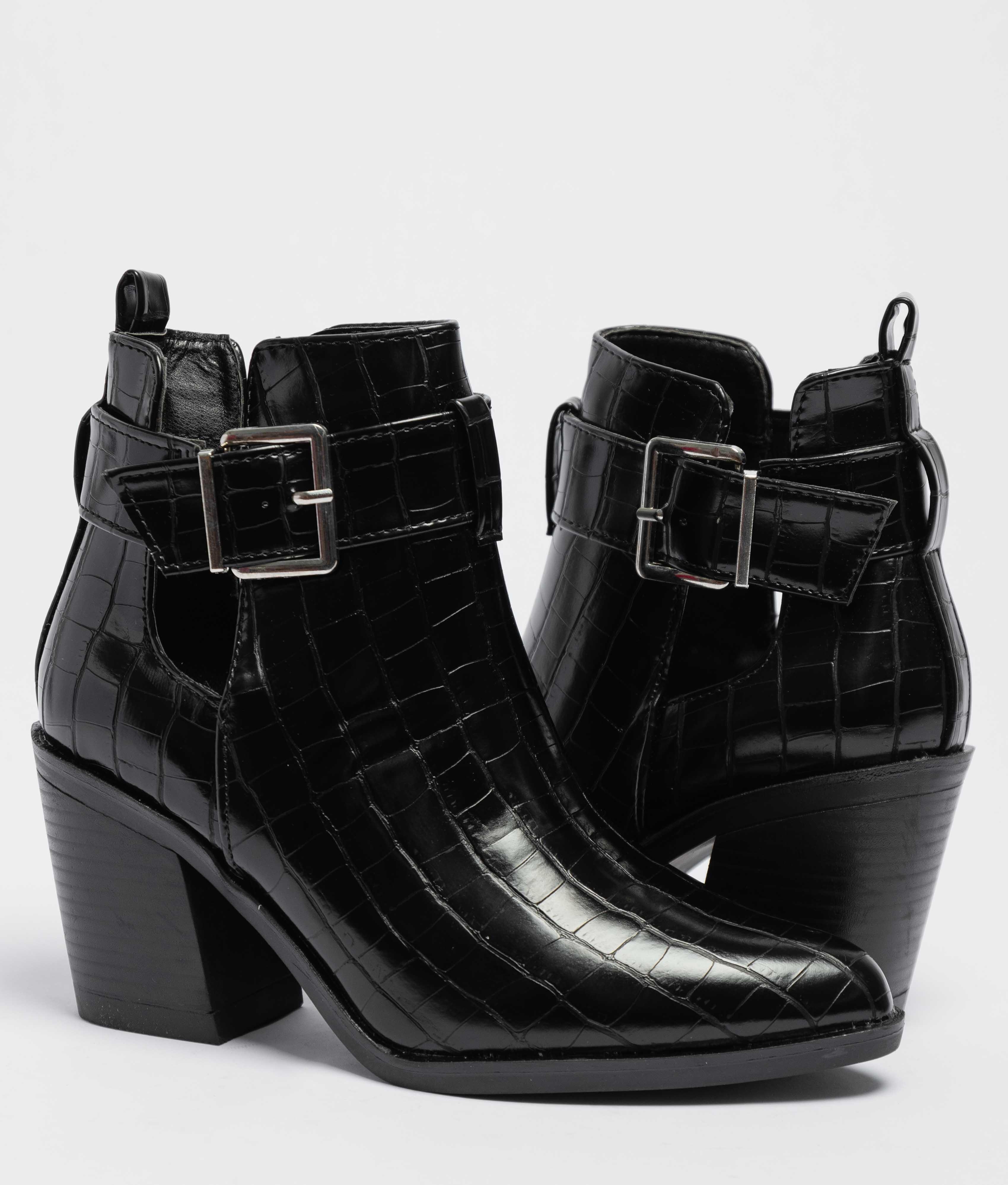 Lerina Low Boot - Black