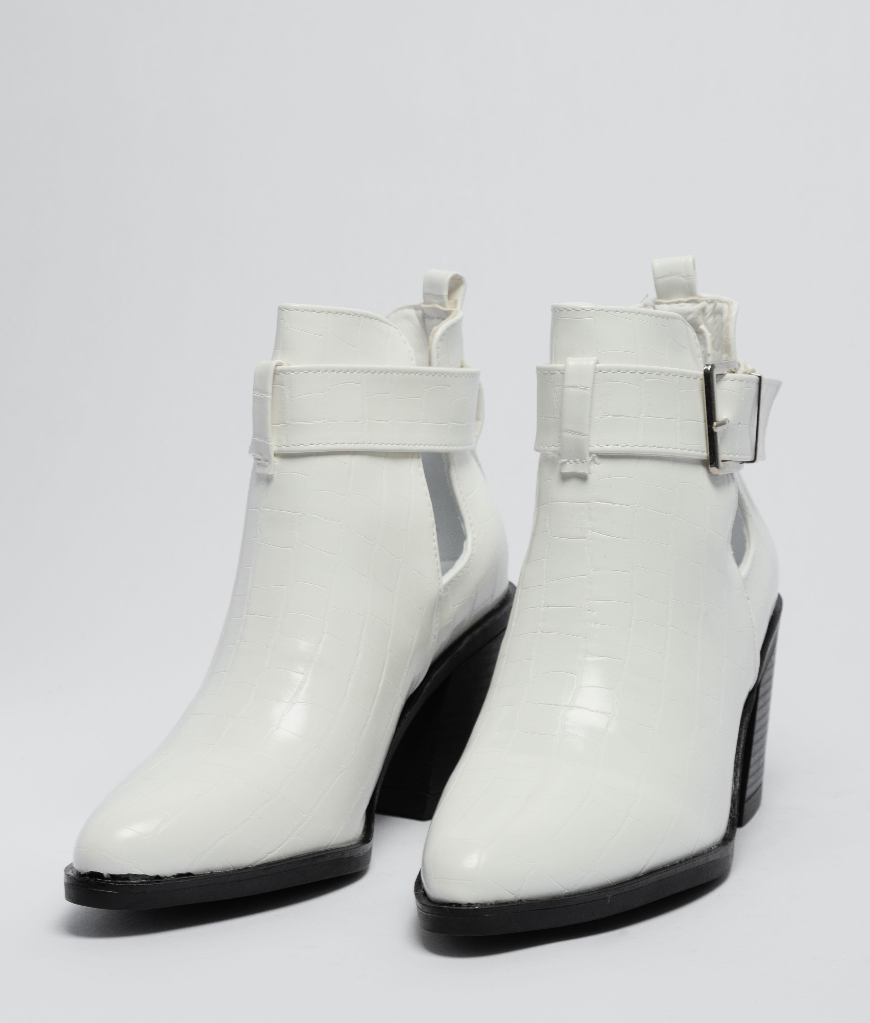 Bota Baja Lerina - Blanco
