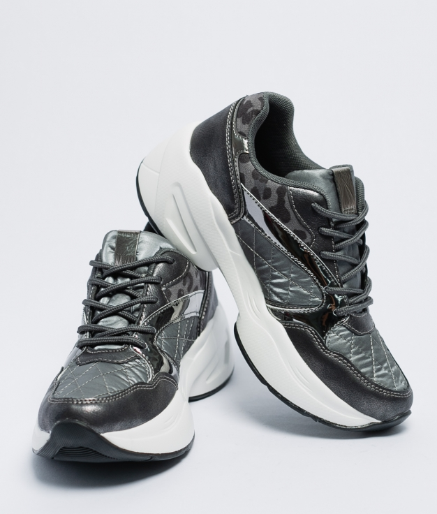 Sneakers Piena - Argento