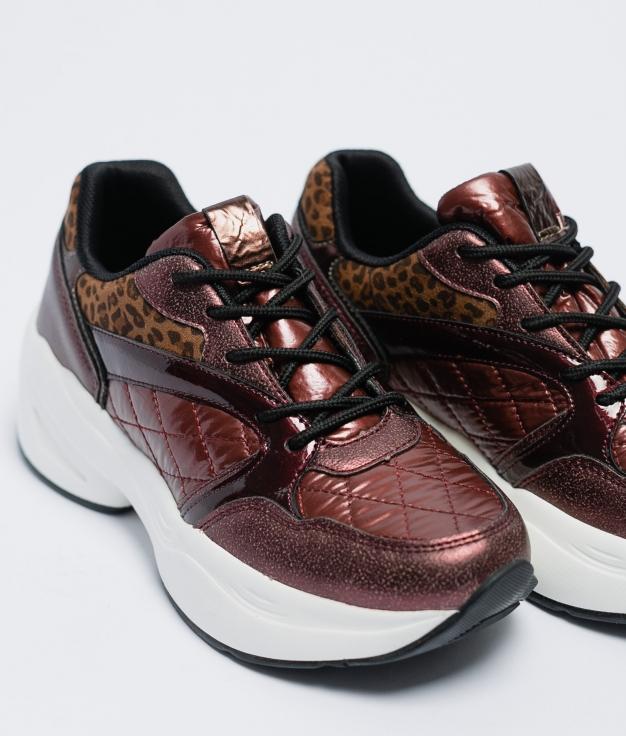 Sneakers Piena - Granato