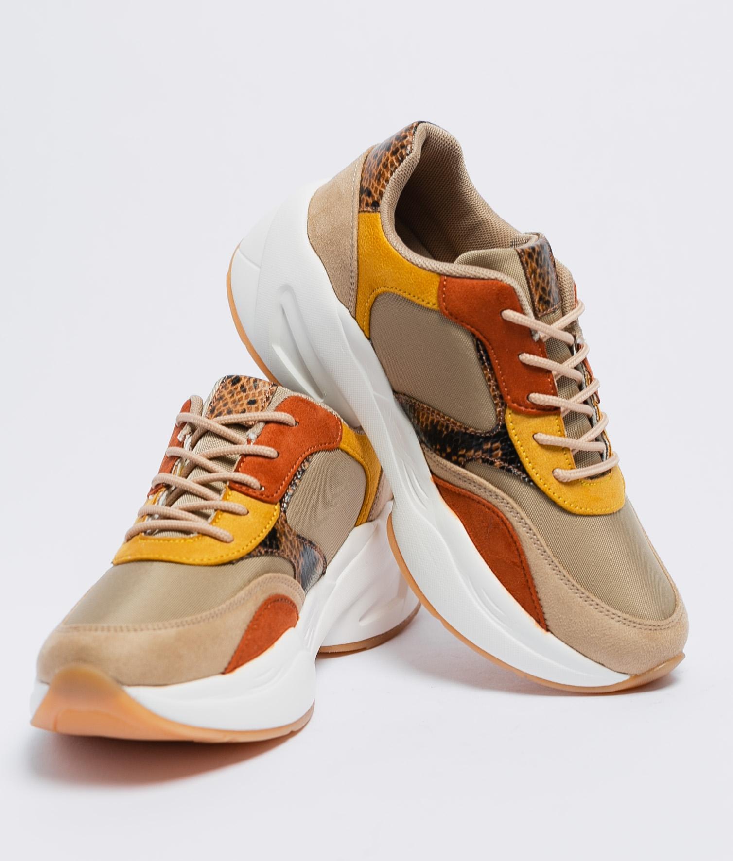 Sneakers Cocola - Mustard