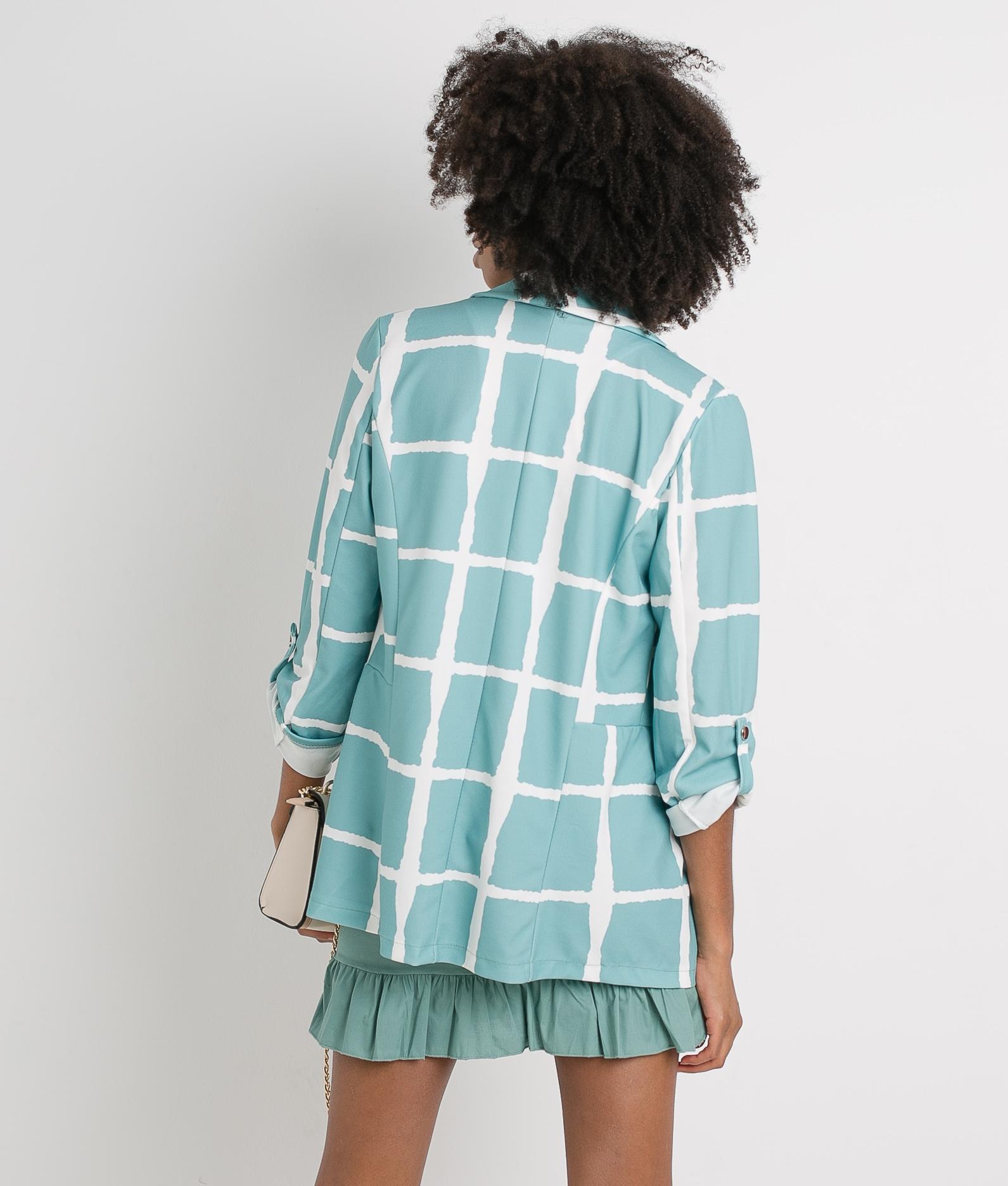 BLAZER ONA - Turquoise