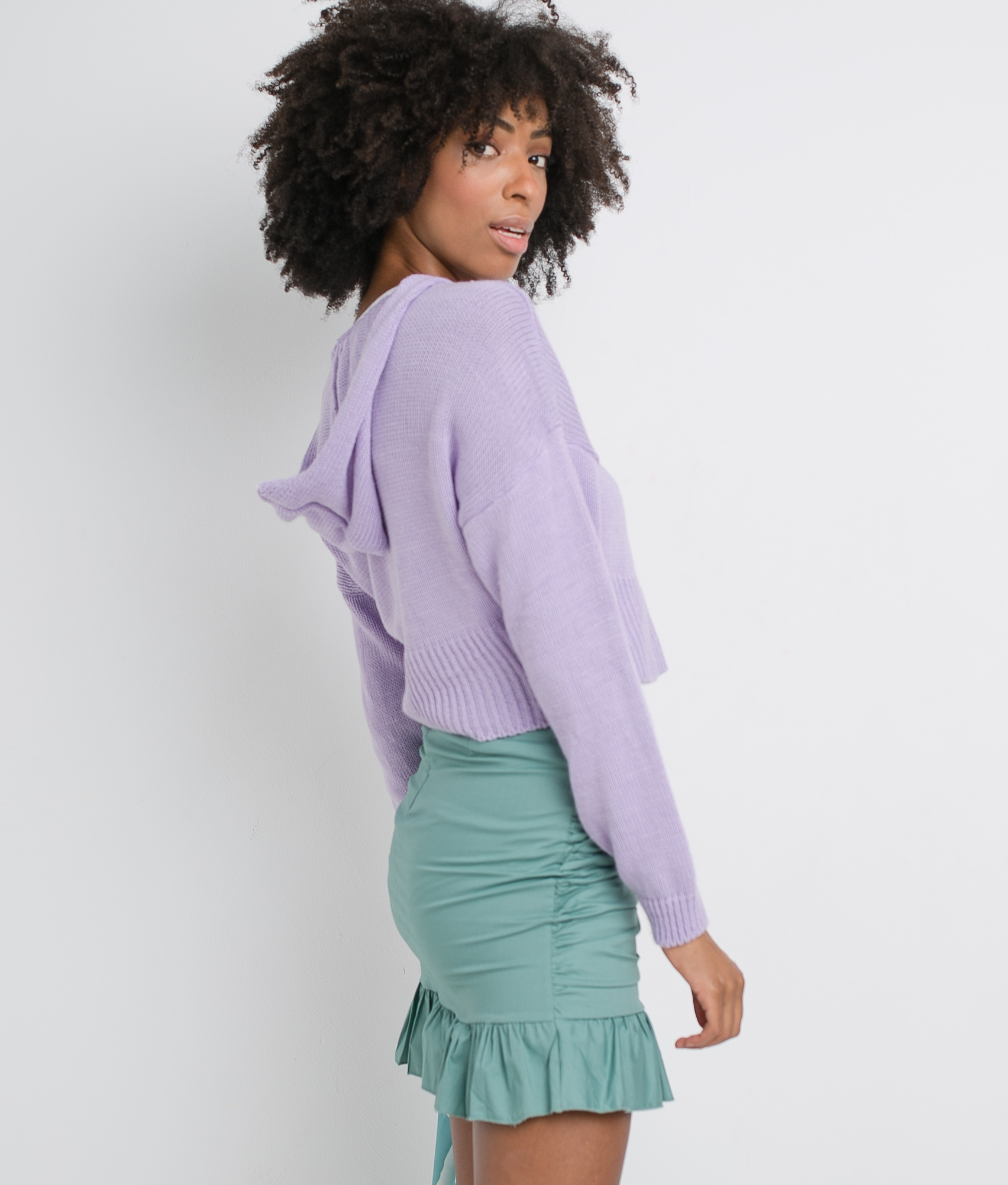 SERPLEA SWEATER - PURPLE
