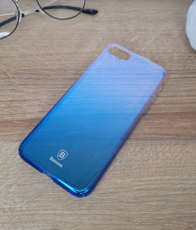 Funda movil iphone 7 y 8 - azul
