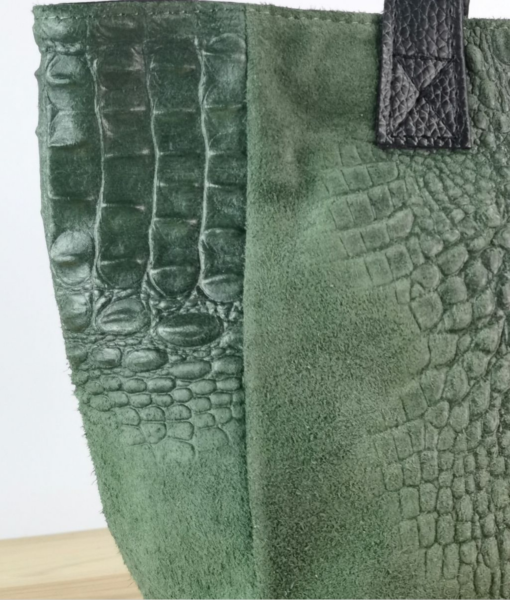 Bolso de piel Tesur - verde