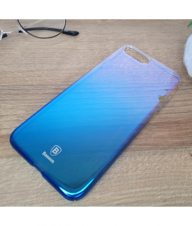 Funda movil iphone 7 y 8 plus - azul