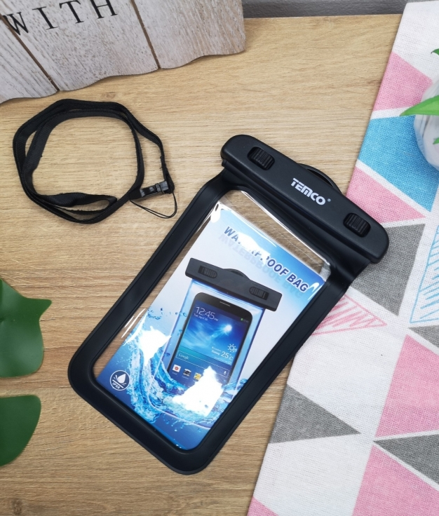Funda movil waterproof - negro