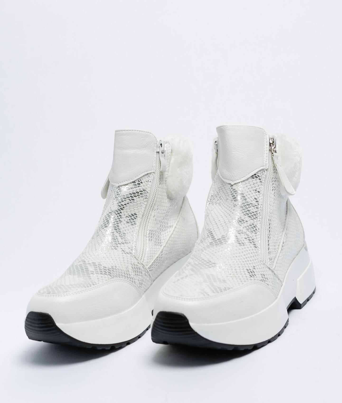 Botas bajas Yiya - Blanco