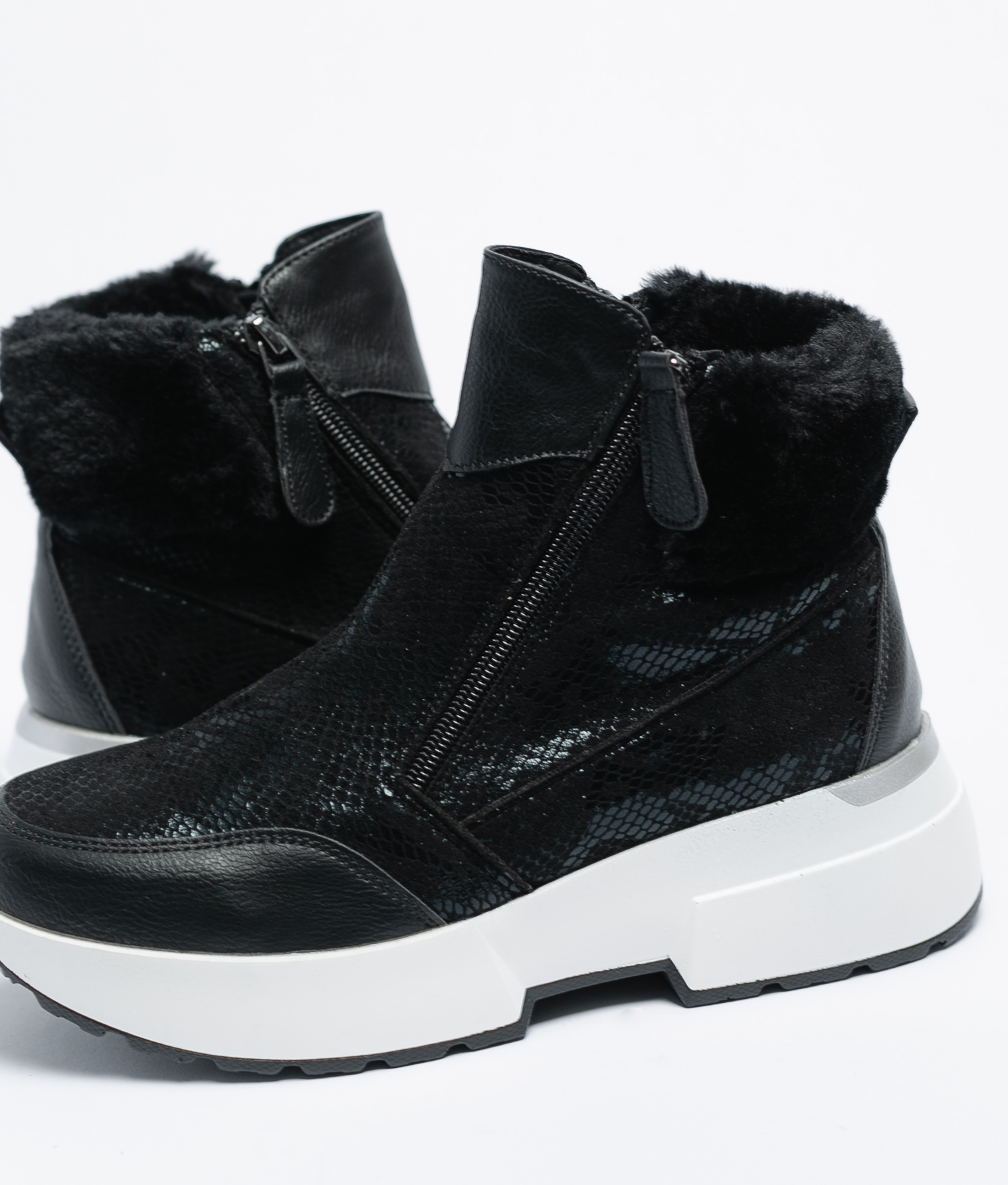 Botas bajas Yiya - Negro