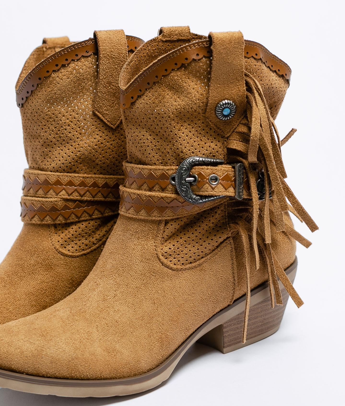 Low Boot Lopan - Camel
