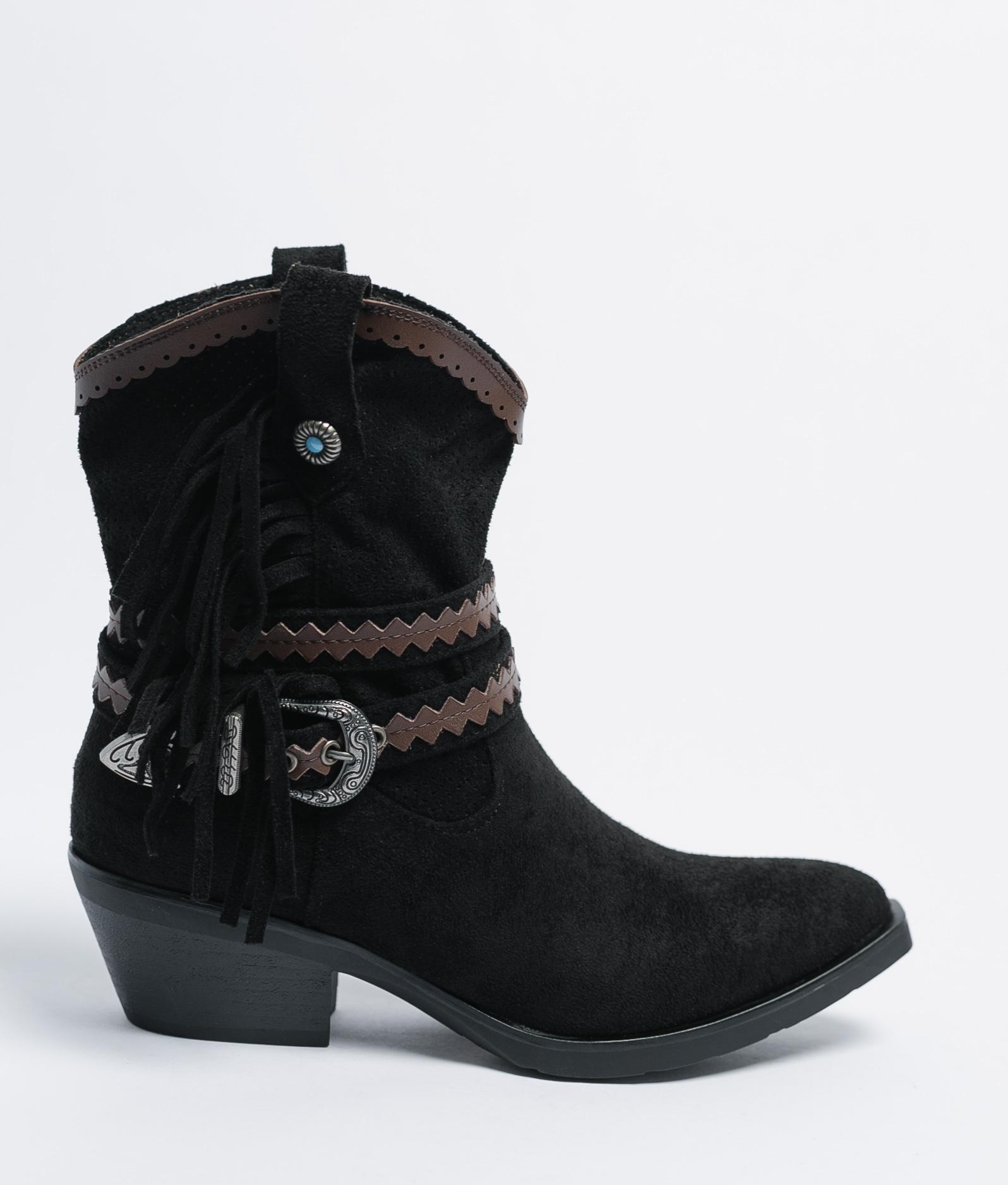 Low Boot Lopan - Black