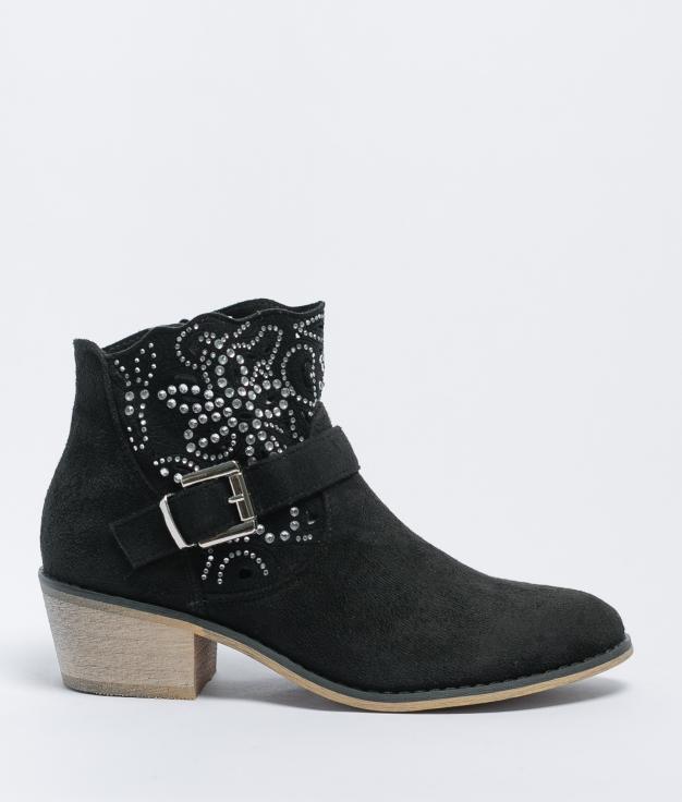 Low Boot Kevia - Black