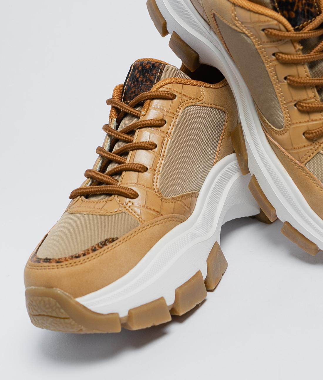 Sneakers Aracena - Camel
