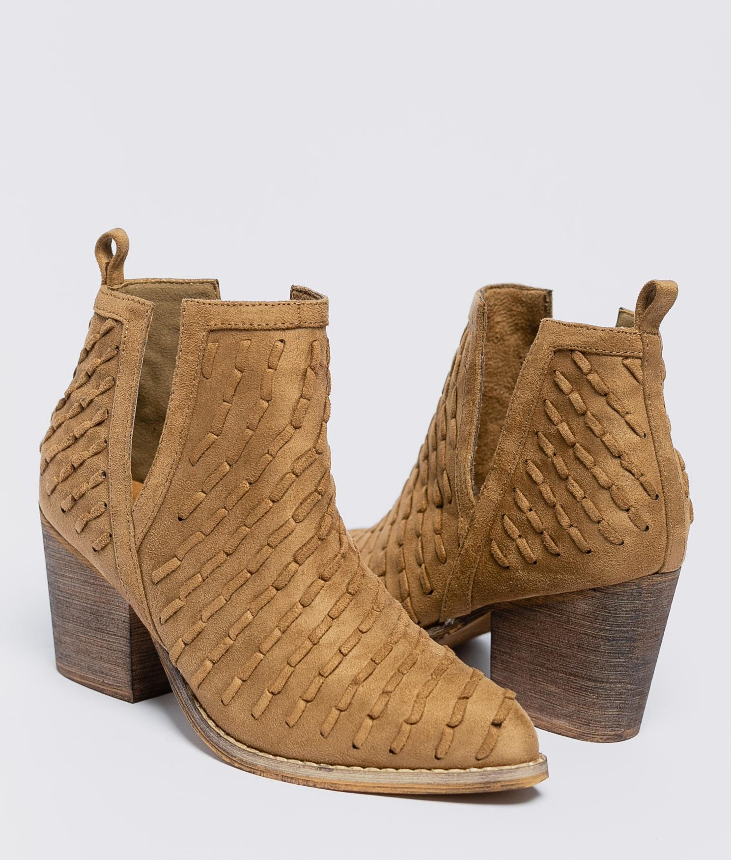Low Boot Artis - Camel
