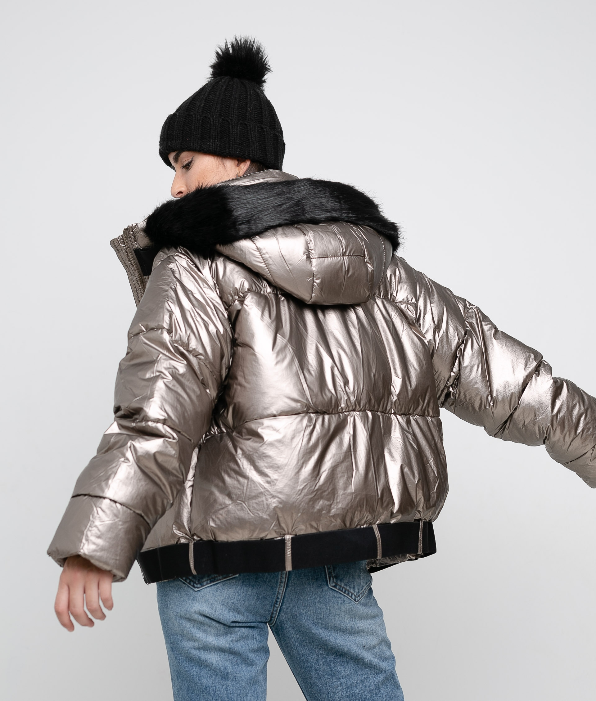 JACKET BRETUS - BRONZE