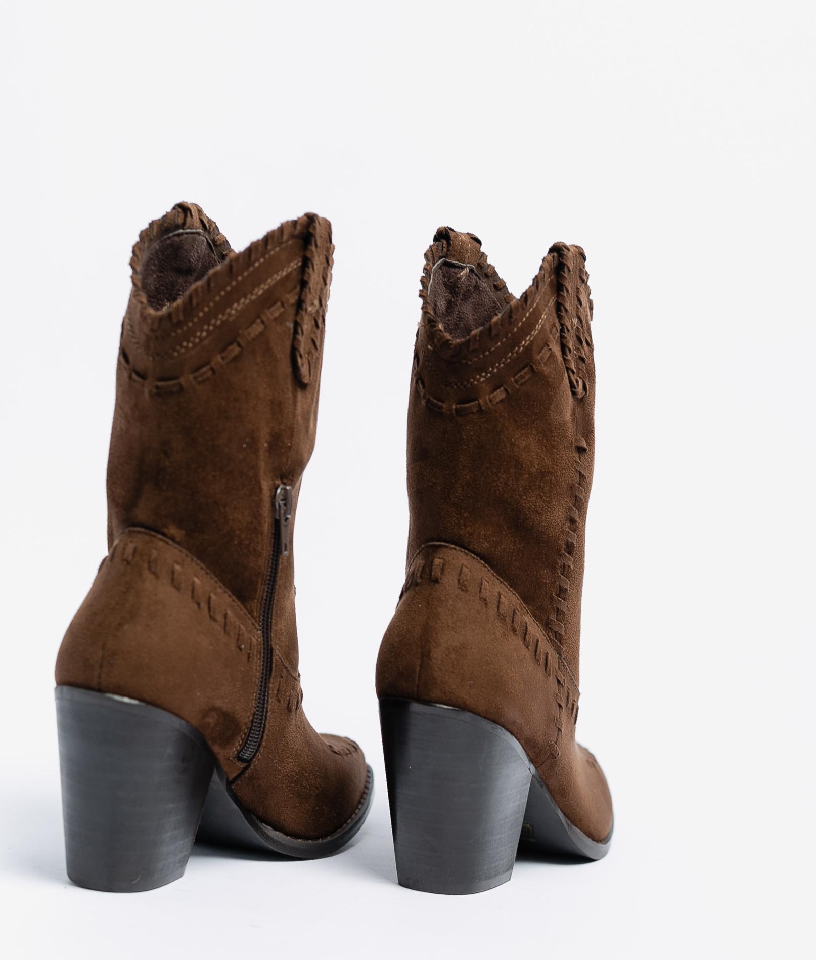 Croma Small Boot - Coffe
