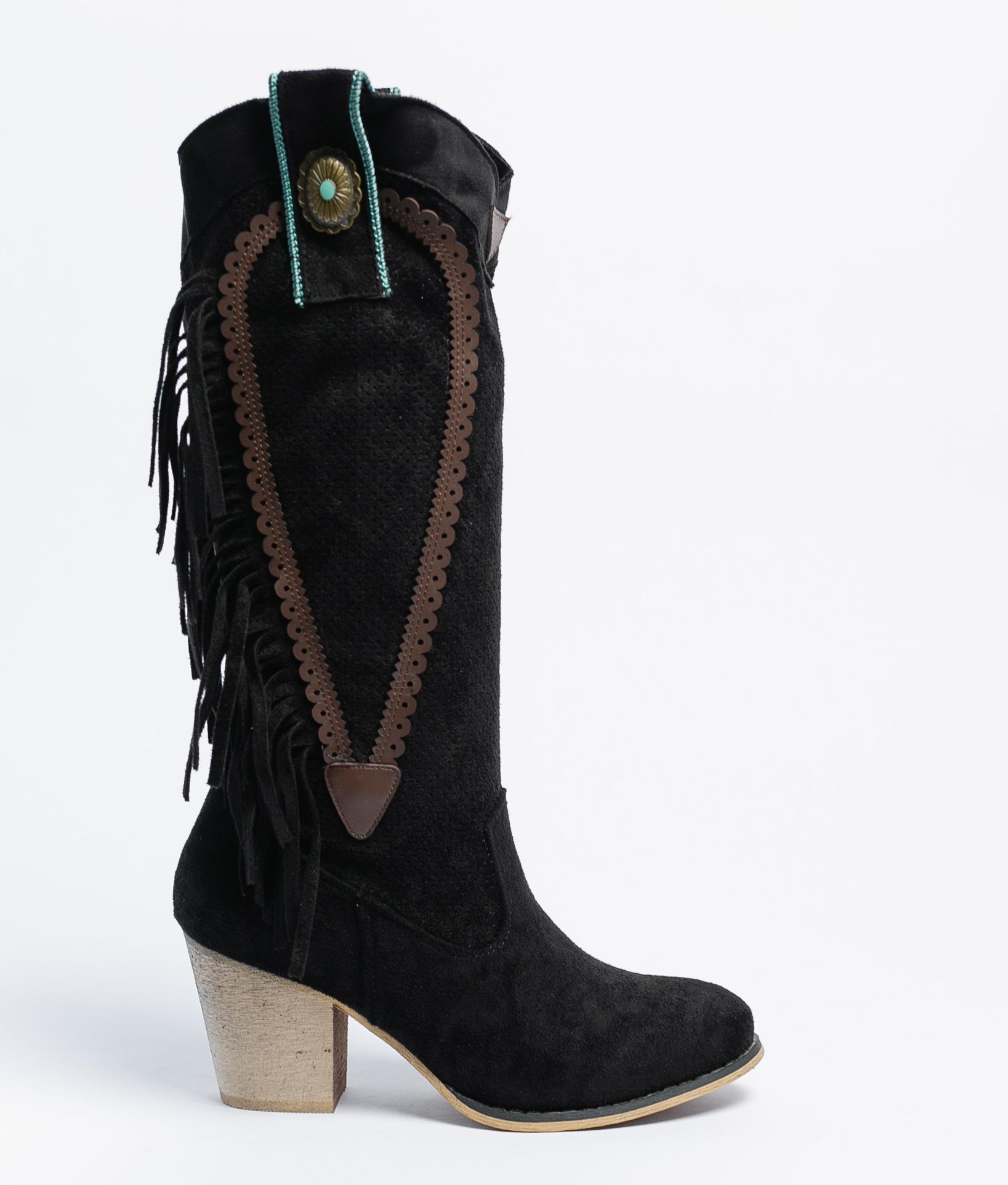 Knee-length Boot Wein - Black