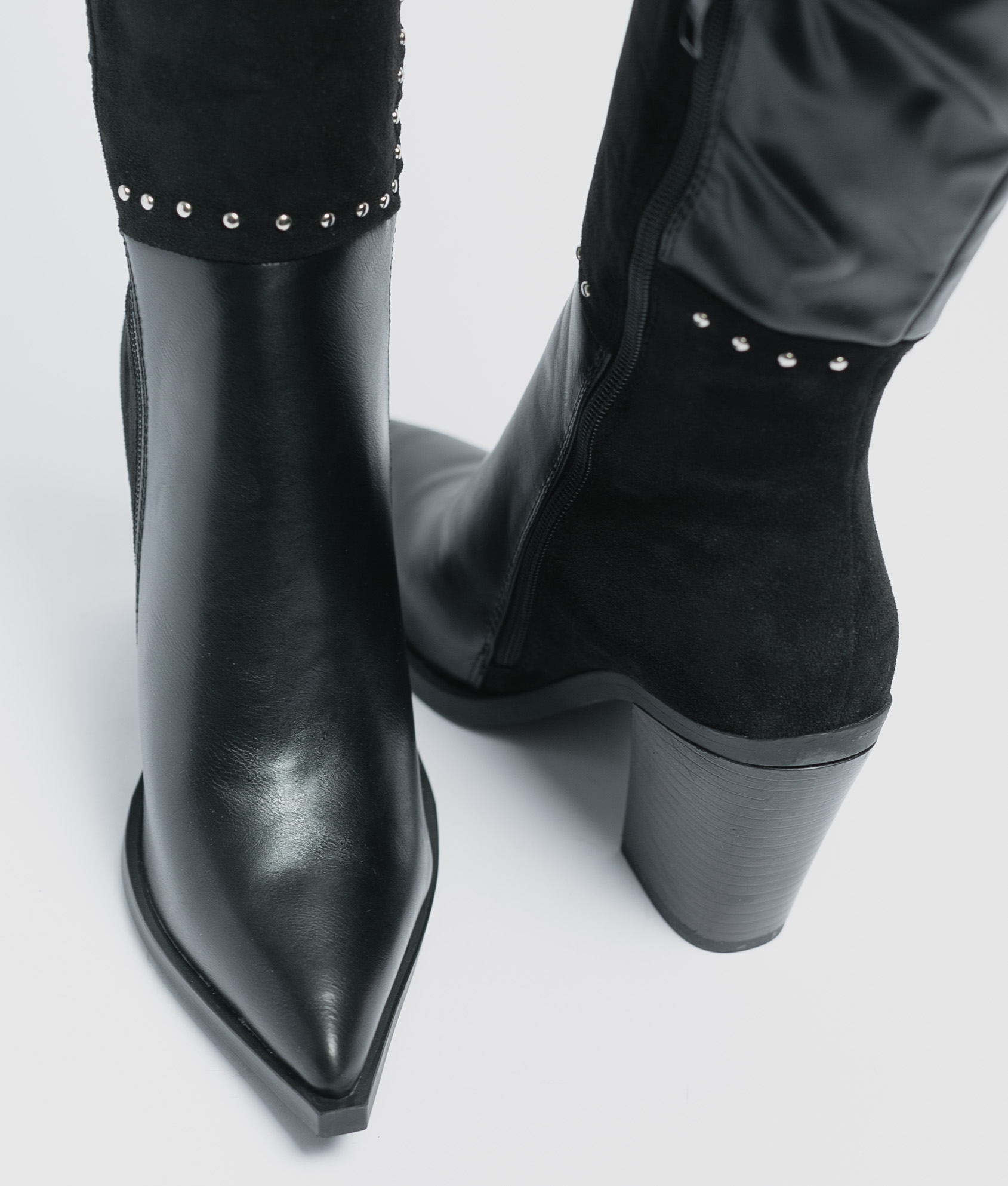Knee-Length Boot Senia - Black
