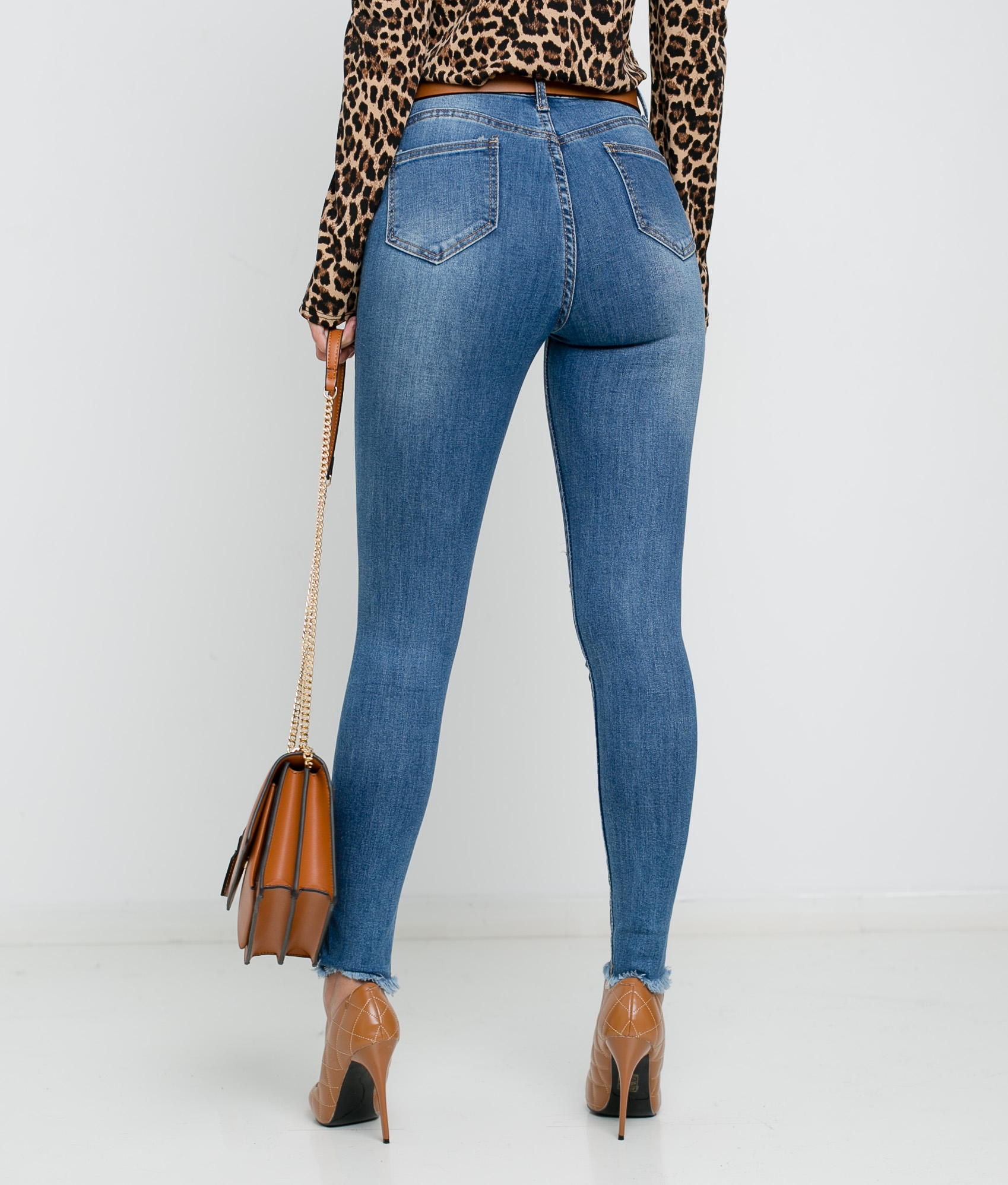 TROUSERS REBOL - DENIM