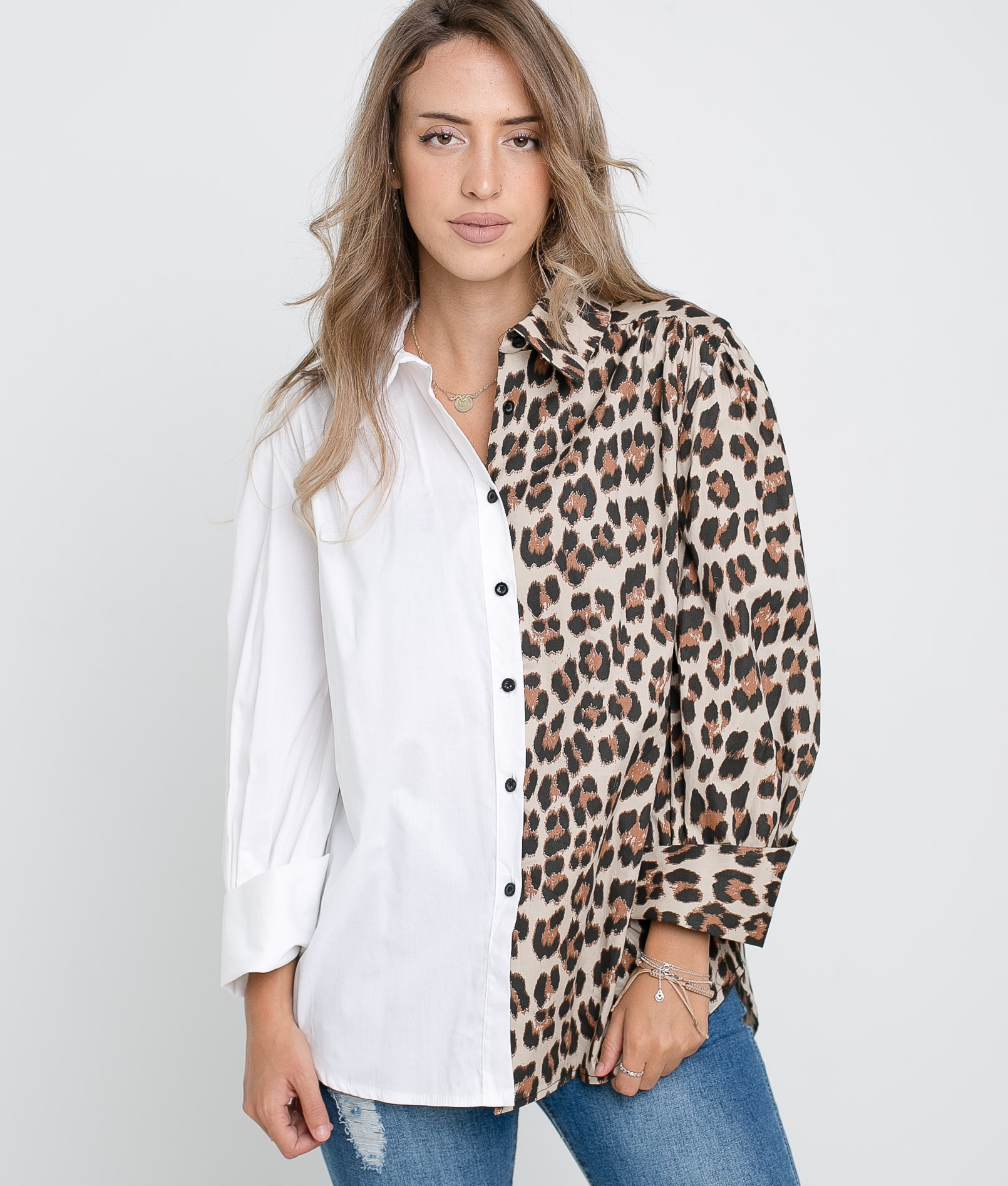 Camisa Bibi - Leopardo