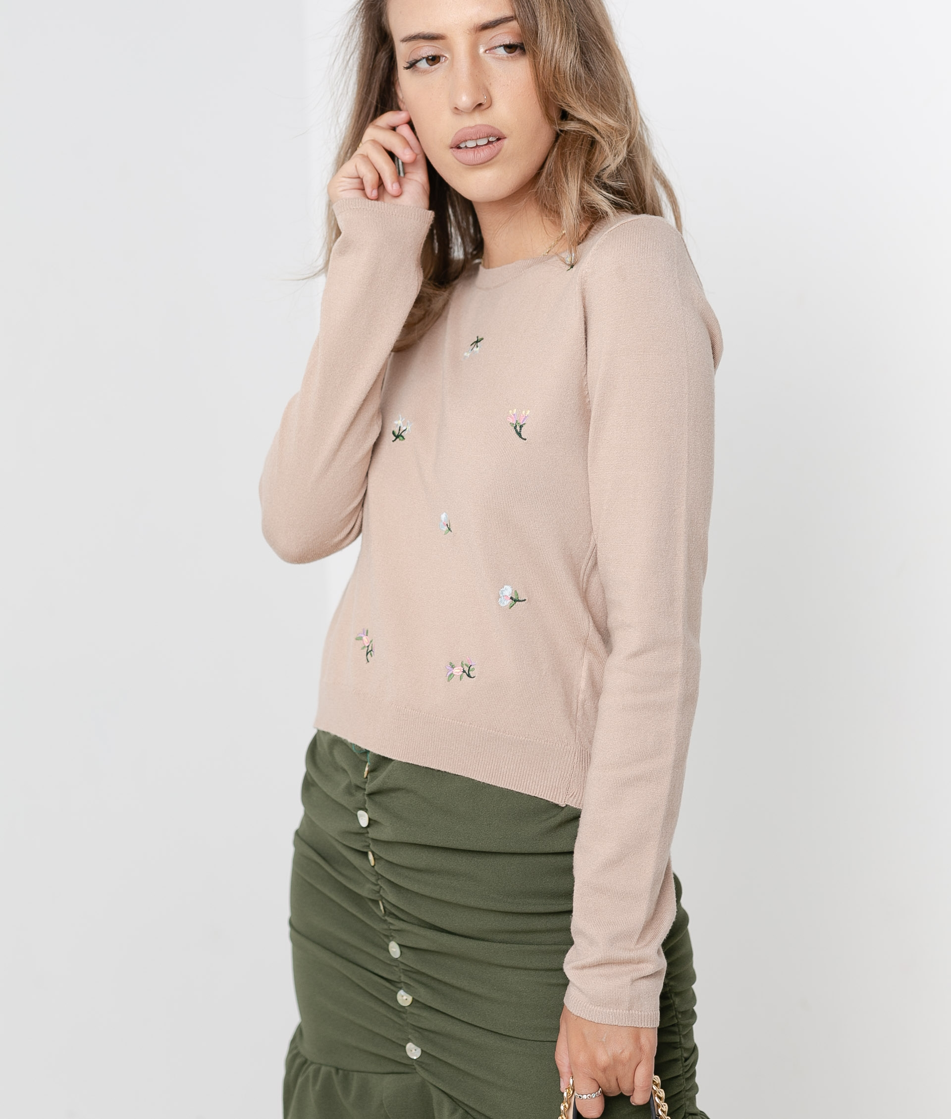 Sweater Beco - Camel