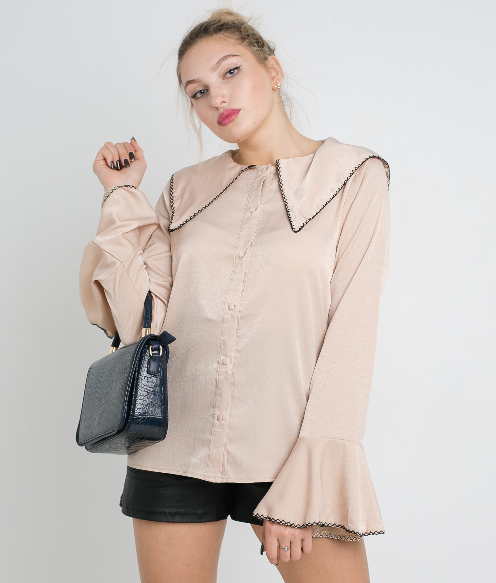 CAMICIA VINTAL - BEIGE