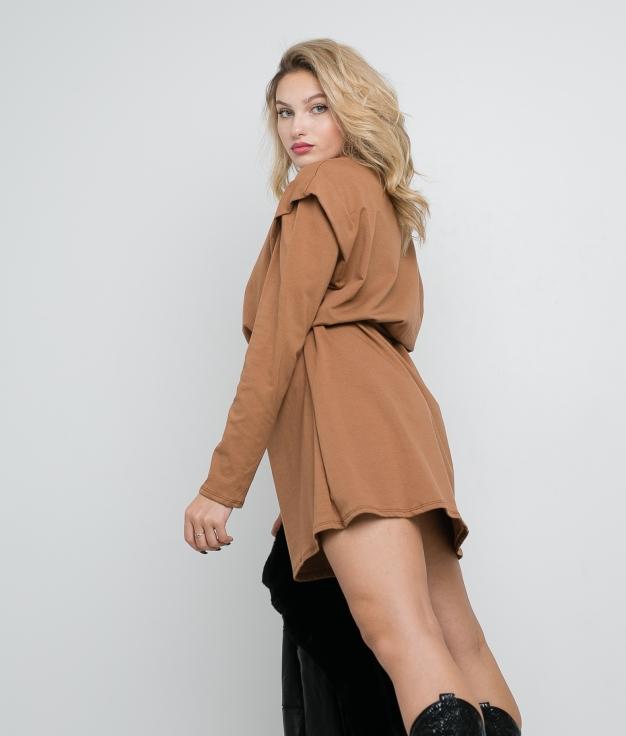 Vestido Nevel - Camel