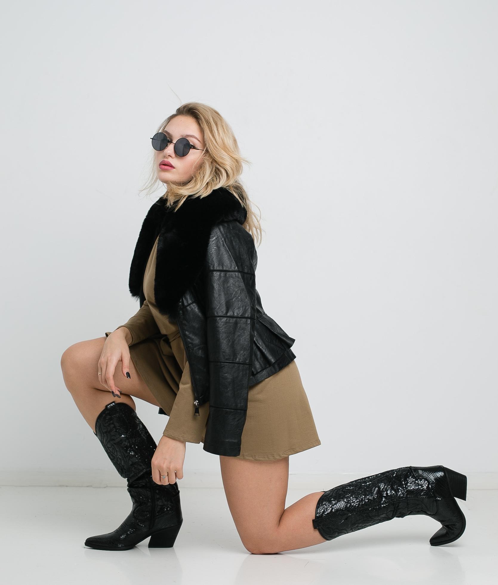 Vestido Nevel - Kaki