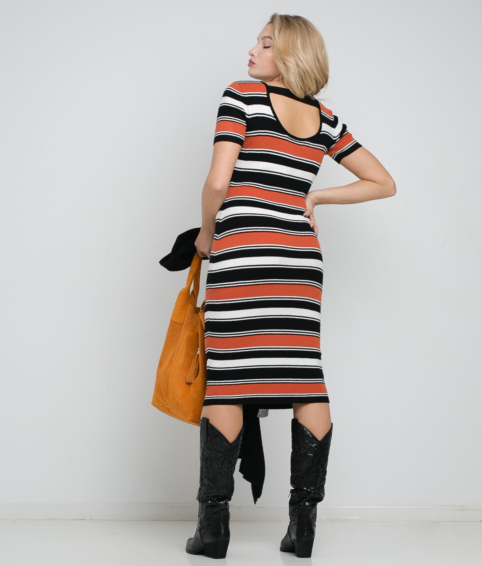 Vestido Lorle - Teja