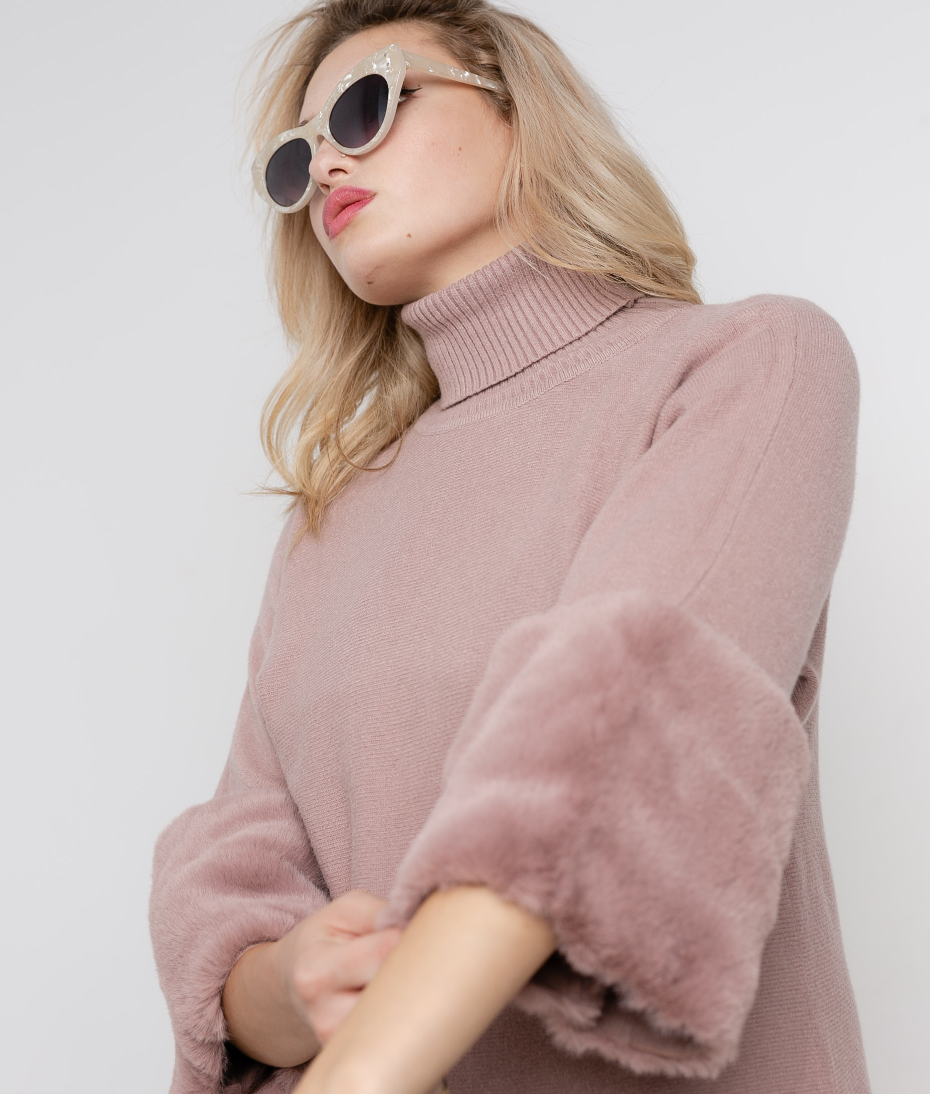 UNAMI SWEATER - PINK