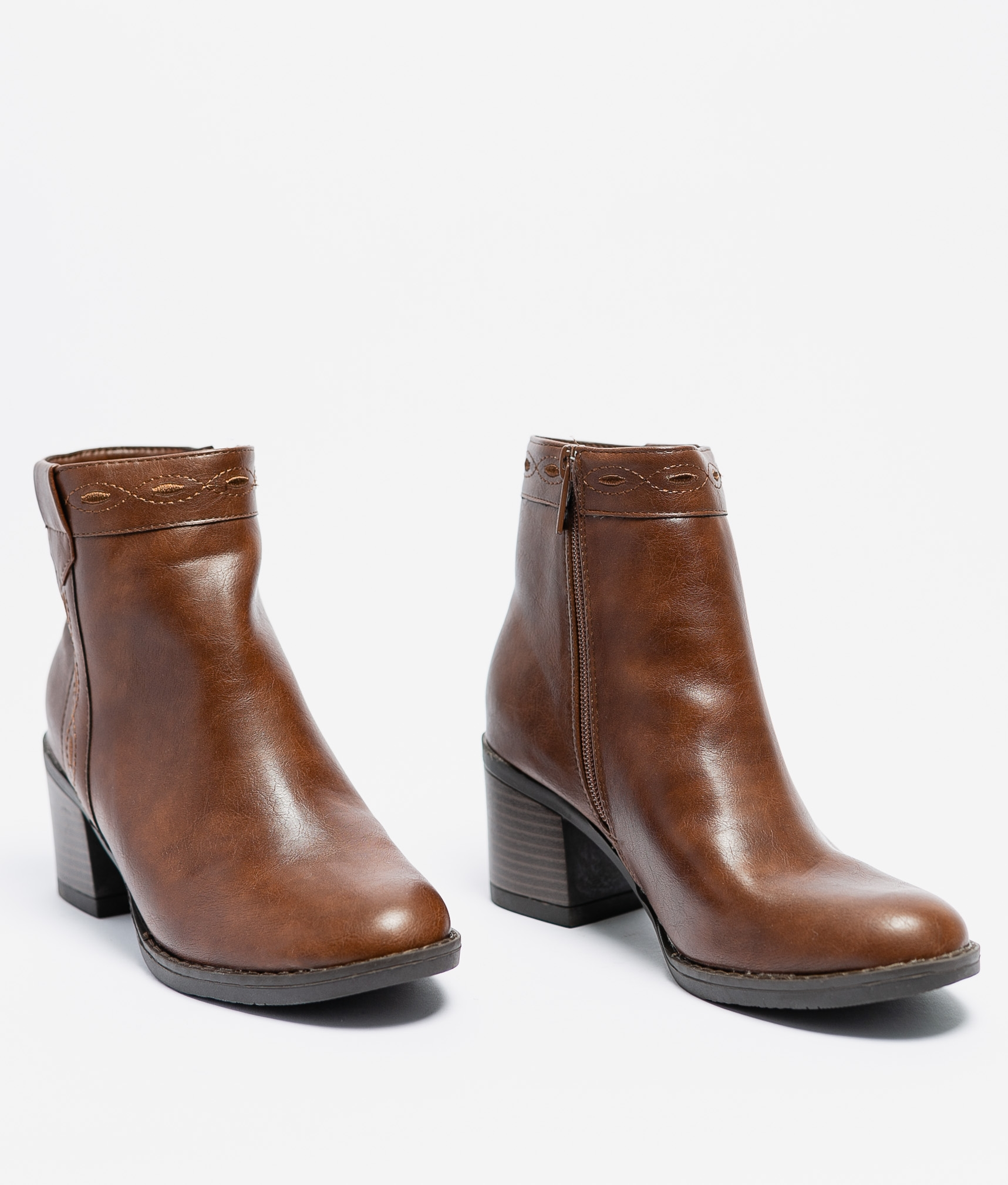 Low Boot Dolly - Brown