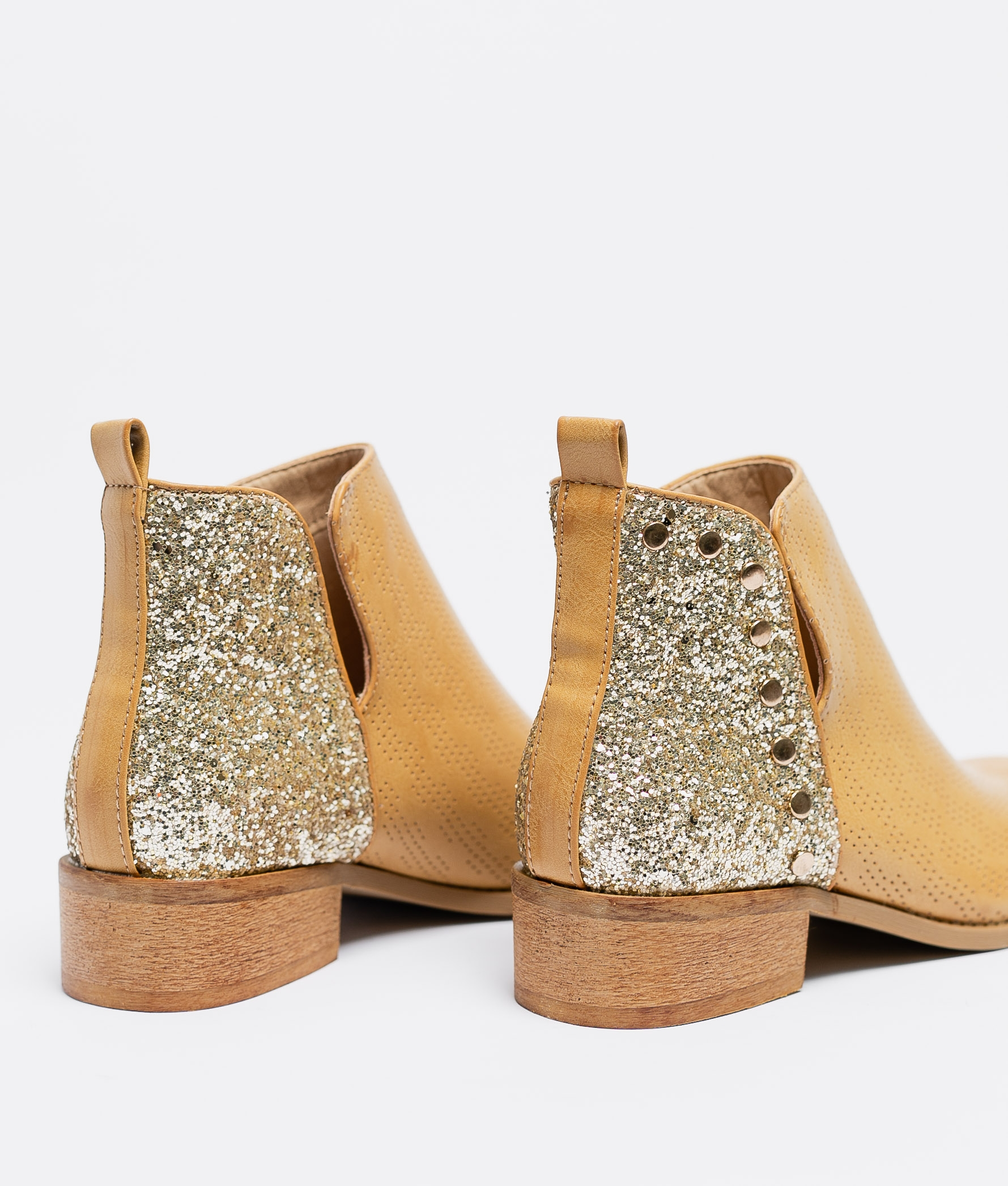 Low Boot Filary - Camel