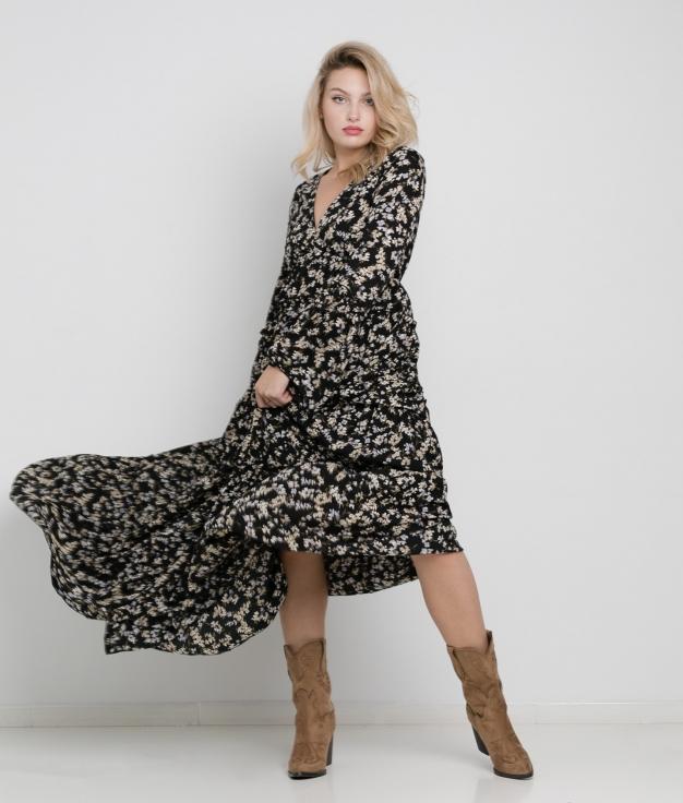 Tinal dress - Black