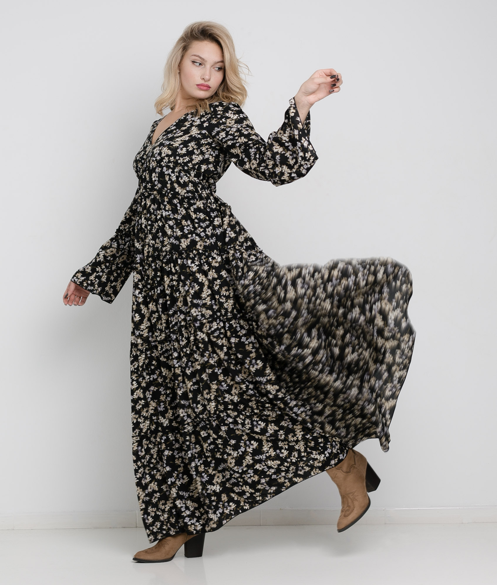 Vestido Tinal - Negro