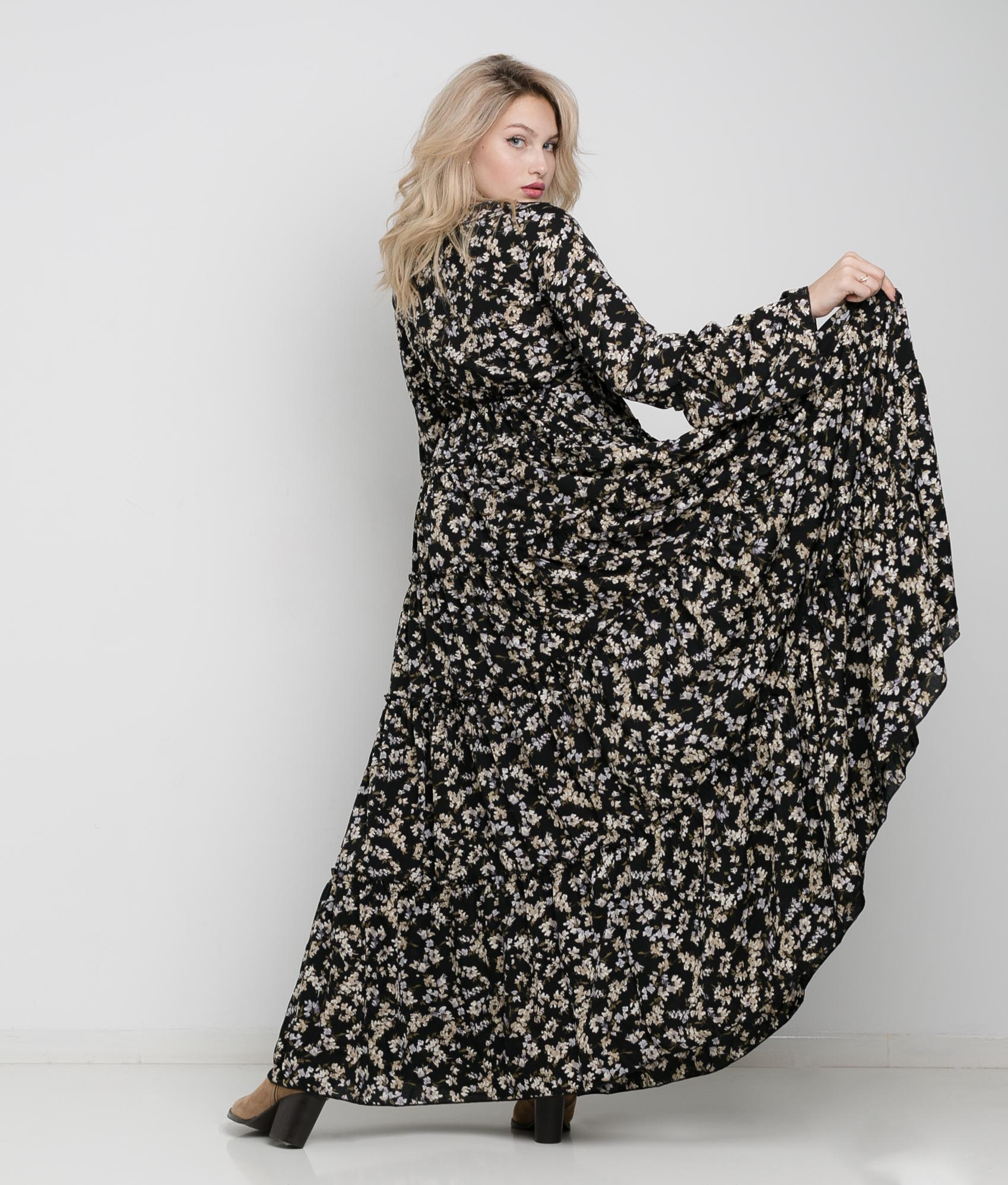 Vestido Tinal - Preto