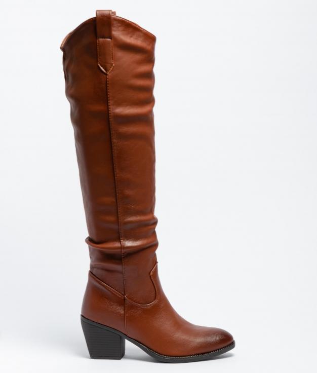 Knee-Length Boot Dorela - Camel