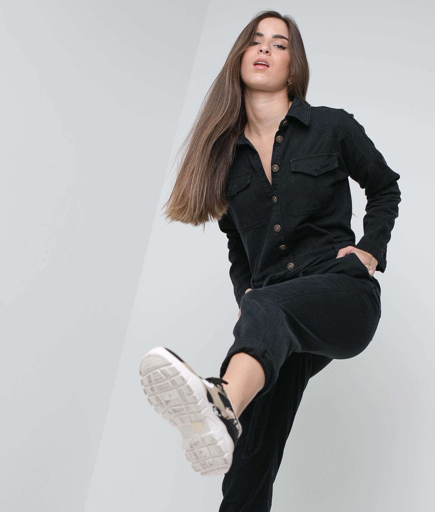JARDINEIRA NANRI - PRETO