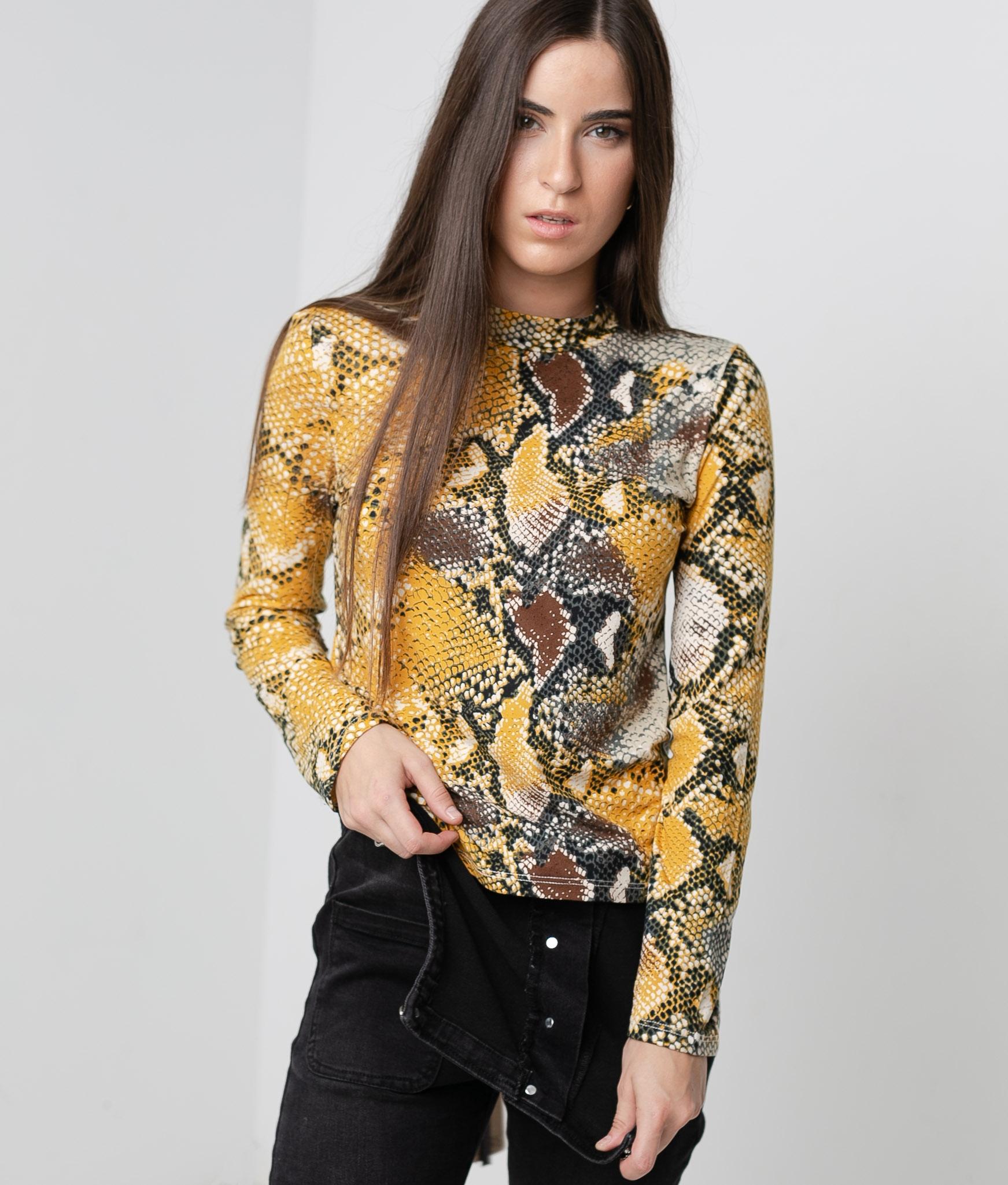 T-shirt Rubes - Jaune