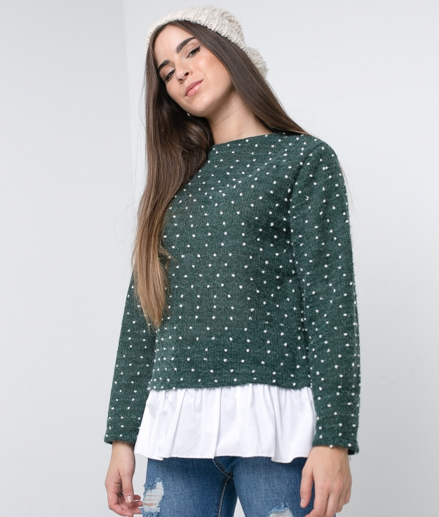 Sweater Mavi - Green