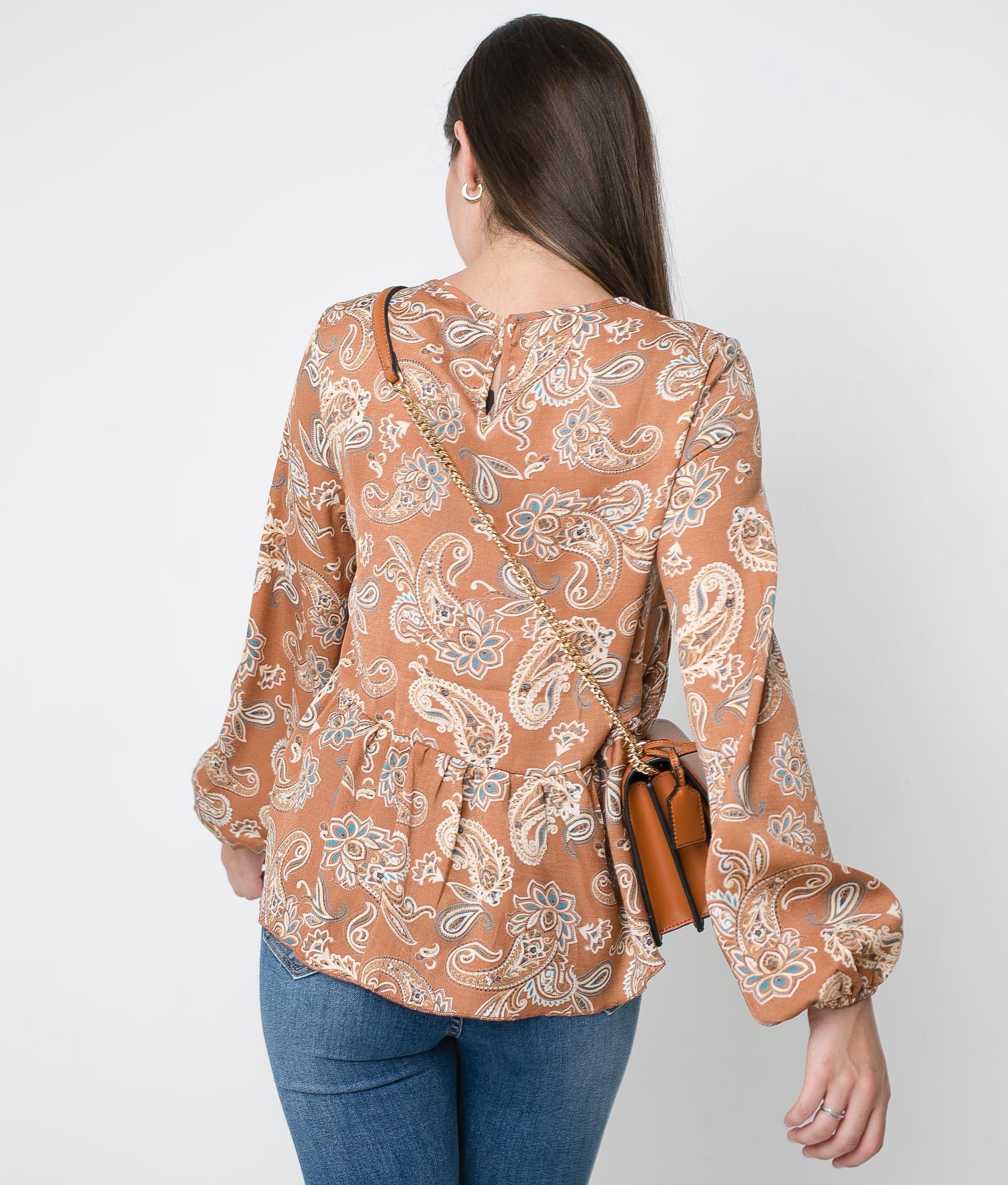 Blusa Antea - Camelo