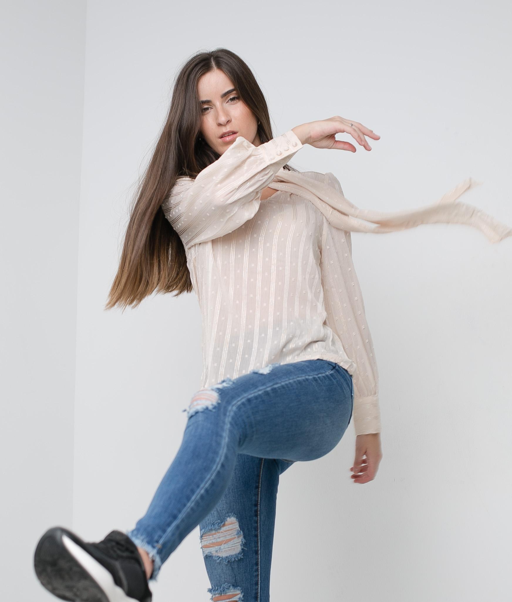 Blusa Cullar - Beige