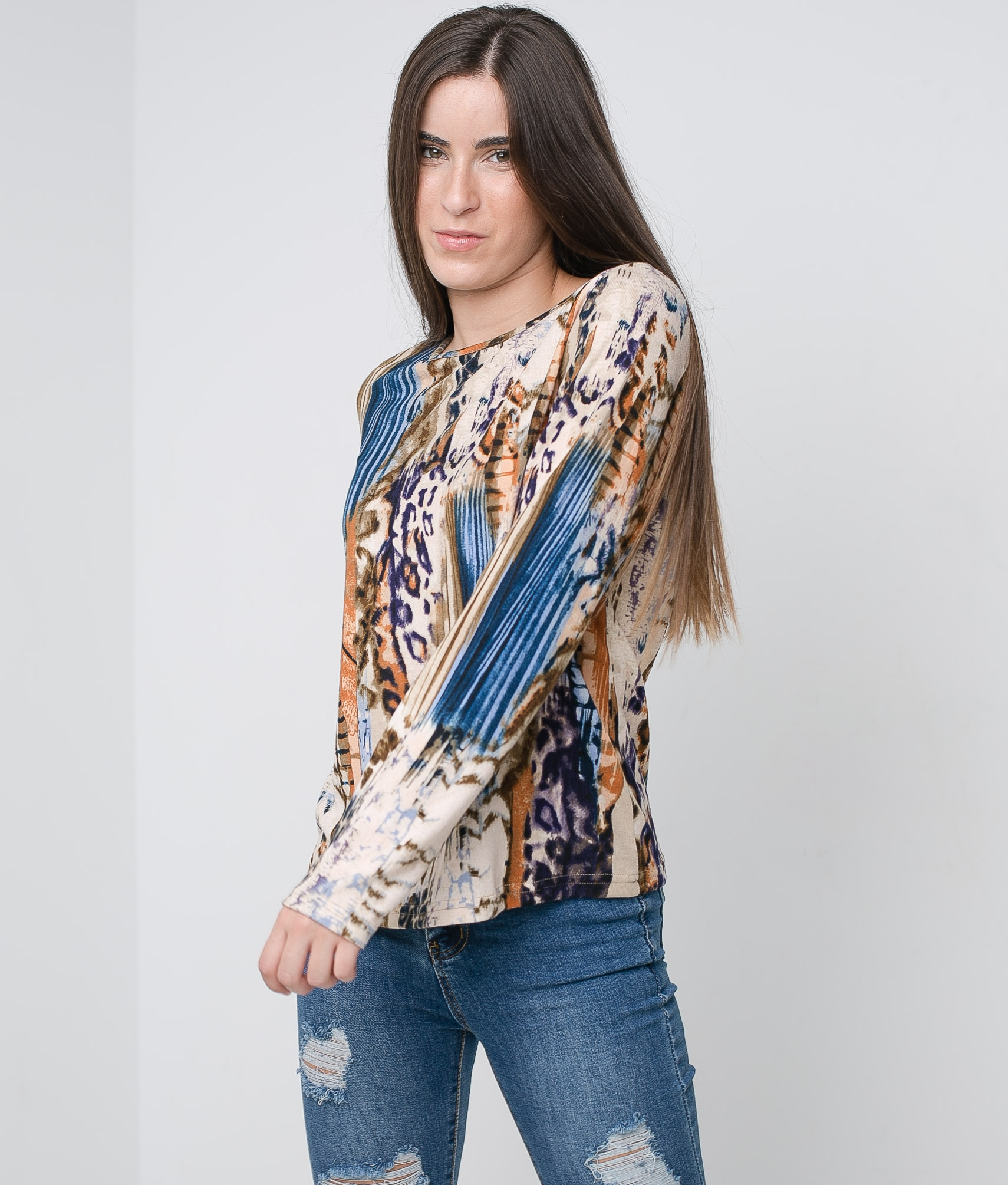 T-shirt Coler - Multicolor